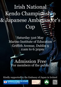 Irish National Championships and Japanese Ambassador's Cup 2014